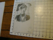 Charles E. Pont Original Art From 1939 Circus Boat Book Cabin Boy For Blue