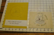 Charles E. Pont Original Art From 1939 Circus Boat Book Cover And Mock Up
