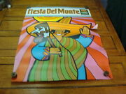 Vintage 1969 Fiesta Del Monte Poster, A Bit Hippy, Fun And Cool 4