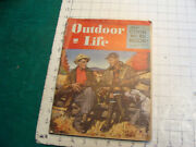 Vintage Magazine Outdoor Life December 1946--mississippi Flyway, Rams, Coon