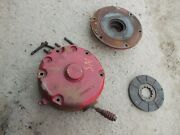 Farmall Super M Sm Ih Tractor Disk Disc Brake Assembly In And Out Covers 357105r1