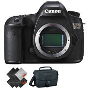 Canon Eos 5ds Dslr Camera Body Only + Deluxe Accessories Bundle