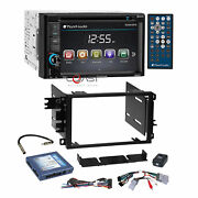 Planet Audio Dvd Bluetooth Stereo Dash Kit Bose Onstar Harness For Gm Chevrolet