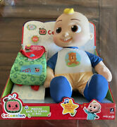 Vhtf Cocomelon Jj Musical Back To School Doll Plush Backpack Target Exclusive
