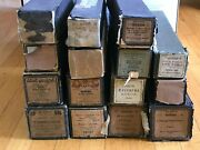 Antique Player Piano Rolls Lot Of 15