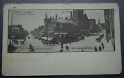 Greetings From Bangor Me, Main, Hammond City Hall Picture Postcard Ppc T2