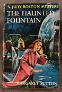 Judy Bolton The Haunted Fountain Margaret Sutton 1957 Dust Jacket