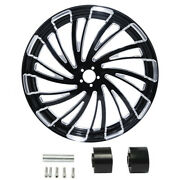 18/21/23/26/30and039and039 Wheel Rim Wheel Disc Hub Fit For Harley Touring Models 08-21 Us