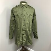 Ben Sherman General Service Olive Shirts Pack Of Two 32/34 Cm British Military
