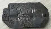 Rare Military Russian Army Dog Tag Wwi 1917 Moscow