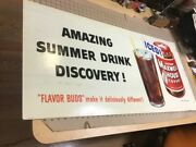 Original Maxwell House Coffee Sign 44 X 21 Amazing Summer Drink Discovery Iced