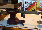 Vintage Antique Howe Red Fishtail Store Counter Scale 5072 Industrial,from Buk