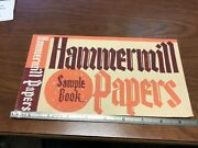 Original Mid-century Will Gerth Commercial Design -hand Painted Hammermill Paper