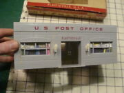 Original Early Plasticville -- U S Post Office Kit In Box -- No Brakes, No Flag