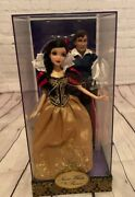 Disney Snow White And Doll- Limited Edition- New