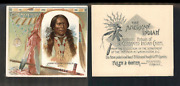 1888 N36 Allen And Ginter American Indian Chiefs John Yellow Flower 3670