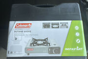 Coleman Portable 1-burner Butane Gas Stove With Carry Case, Gray, 7650 Btu Max