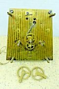 Antique Seth Thomas Double Weight Movement For Tall Case Clock