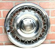 Chevrolet Corvair 13 Wire Wheel Cover Hubcap Hub Cap Parts No Spinner 1962 1963