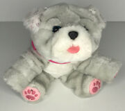 Little Live Pets My Kissing Puppy Rollie Plush Toy Girl Gray Bulldog