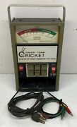 Sencore Touch Tone Cricket Tf26 In/out Of Circuit Transistor Fet Tester