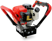 Xtremepowerus V-type 55cc 2 Stroke Gas Post Hole Digger One Man Auger Epa Plant