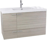 Acf Ans359 New Space Bathroom Vanity With Fitted Ceramic Sink Wall Mounted 39