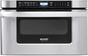 Sharp Kb-6524ps 24-inch Microwave Drawer Oven 1.2 Cu. Ft. Stainless Steel