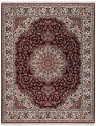 The Rug Truck - Persian Treasures Shah Red Area Rug 9and039 X 12and039   Turkish Area Ru