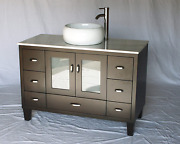 Chinese Arts Inc 46-inch Contemporary Style Single Sink Bathroom Vanity Model 2