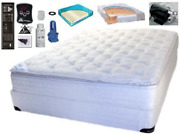 Queen Softside Pillowtop Waterbed Mattress With Heater And Electric Pump