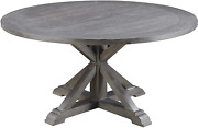 Wallace And Bay Morris Dining Table 60 Inch Charcoal Gray