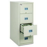 Fireking Patriot 4p1831-cpa One-hour Fireproof Vertical Filing Cabinet 4 Drawer