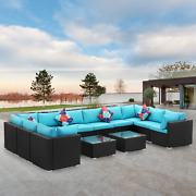 Diophros 12 Pieces Patio Furniture Sets Outdoor All-weather Sectional Sofa Wea