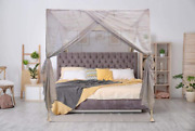 Blocsilver - Emf Protection Four Poster Bed Canopy - Emf Shield For 5g Wifi And