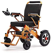 Electric Wheelchair Folding Lightweight 60 Lbs W/battery Supports 365 Lbs Aircra