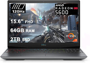 Dell 2021 Flagship G5 15 Special Edition Gaming Laptop 15.6 Fhd 120hz Display A