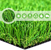 Sv Household Decor Realistic Deluxe Artificial Grass Synthetic Thick Lawn Turf C
