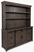 Jofran Madison County Reclaimed Pine Farmhouse Sideboard Server And Hutch Barnw