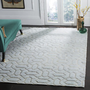 Safavieh Santa Fe Collection Stf531a Hand-knotted Mid-century Modern Wool Area R