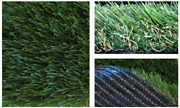Koeckritz 15and039x15and039 - Nat54 Premium Synthetic Grass Turf   1.5andrdquo Artificial Two-ton