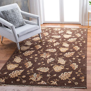 Safavieh Agra Collection Agr370b Hand-knotted Traditional Premium Wool Area Rug
