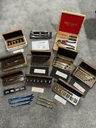 Lot Craftsman Usa Limited Edition Collectors Tools Sets - Gold And Blue Titanium