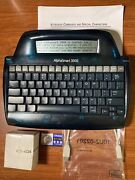 Alphasmart 3000 - Tested Usb Rechargeable Aa And New Backup Battery Adapter