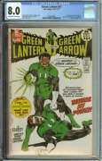 Green Lantern 87 Cgc 8.0 Ow/wh Pages // 1st Appearance Of John Stewart