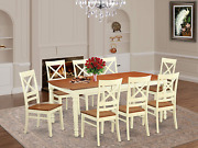 9 Pc Dining Room Set -table And 8 Dining Chairs