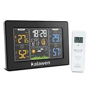 Wireless Weather Station Indoor Outdoor, Digital Thermometer Hygrometer Home