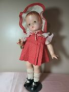 Outstanding Compo Effanbee Patsy Ann Doll 1932 W. Original Complete Outfit 19