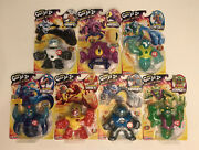 Heroes Of Goo Jit Zu Galaxy Attack Ultra Rare Complete 7 Figure Lot New In Hand