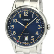 Polished Ct60 Stainless Steel Automatic Mens Watch 34668299 Bf534103
